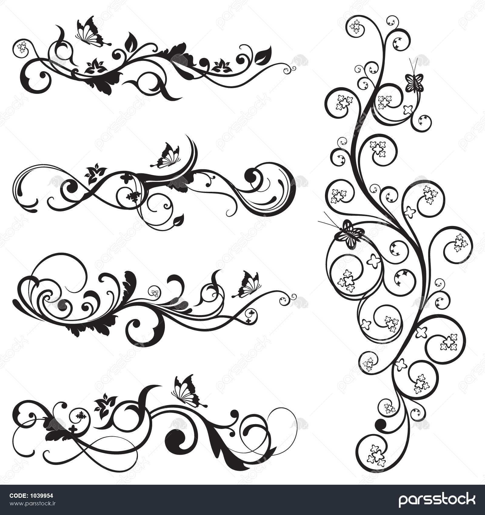 outline drawings of christmas trees