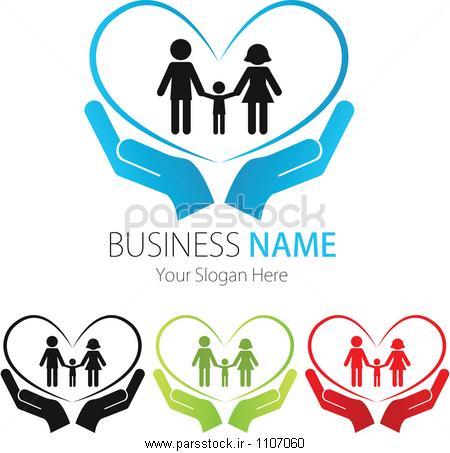 شرکت ( کسب و کار ) طراحی لوگو ، وکتور ، قلب، مردم ، خانواده وکتور ...شرکت ( کسب و کار ) طراحی لوگو ، وکتور ، قلب، مردم ، خانواده