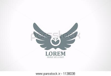 بال پرنده طراحی آرم بردار انتزاعی پرواز جغد نماد وکتور لایه باز ...بال پرنده طراحی آرم بردار انتزاعی پرواز جغد نماد