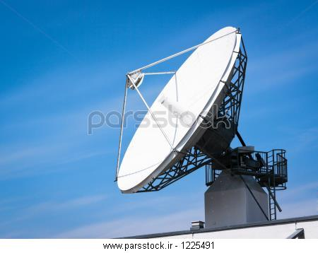بشقاب های ماهواره ای در نزدیکی وین