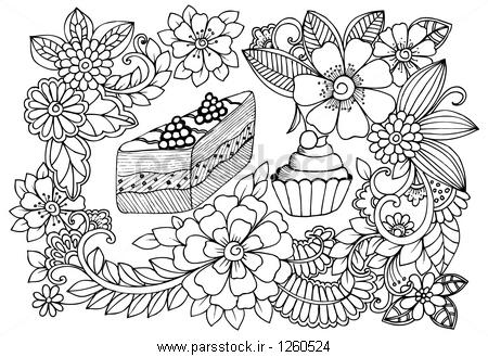 outline photos of flowers