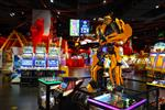 SHENZHEN CHINA OCTOBER 13 2015 game club interior Shenzhen is a major city in the south of Southern China