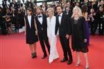 CANNES FRANCE MAY 21 Celine Sallette Ruben Oestlund Marthe Keller Diego Luna attends the